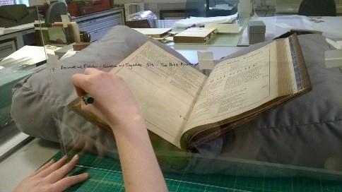 Fettling folios
