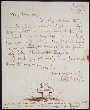 Branwell Brontë transcribed