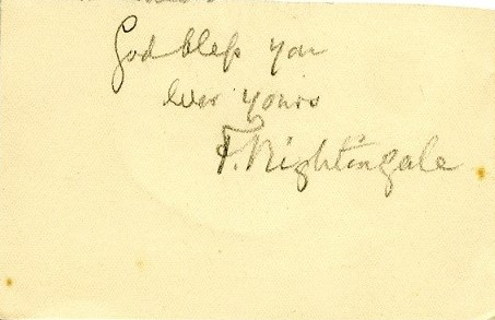 The Lady with the Lamp: Florence Nightingale Letters now online