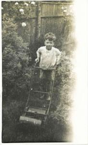 Hill as a child