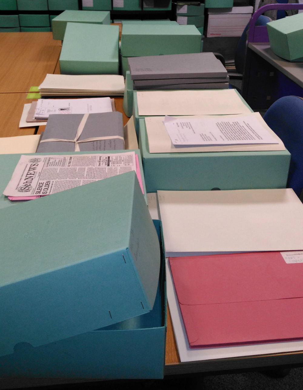 More than cataloguing…