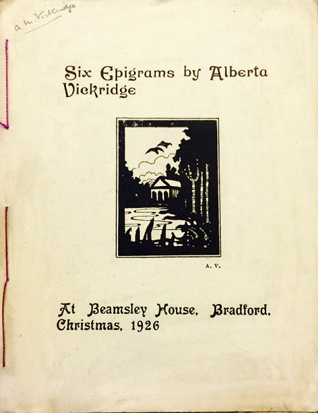 Bradford's Bard – AlbertaVickridge
