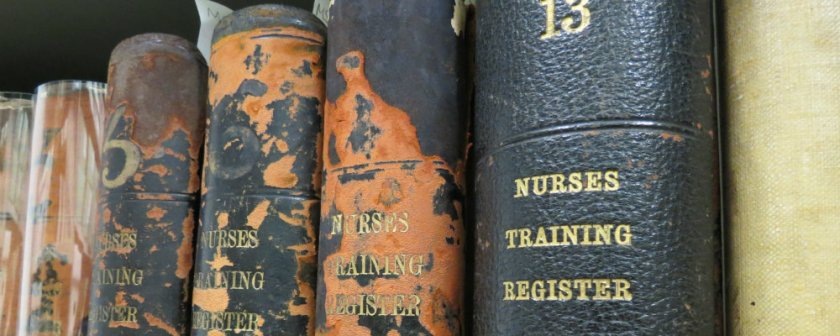 The Leeds General Infirmary Nurse Training Registers.