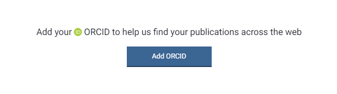 ORCiD via your Symplectic account - log-in required