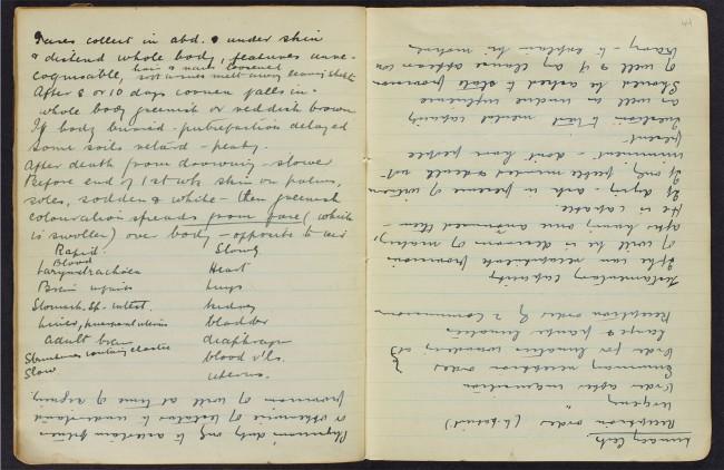 Manuscript in tête-bêche style