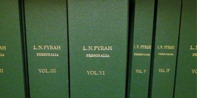 Pyrah Scrapbook Volumes