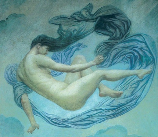 emily ford - flying figure (towards the dawn)