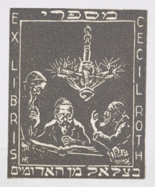 Roth bookplate